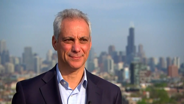 Mayor Rahm Emanuel's Final Interview With NBC 5 Pt. 1