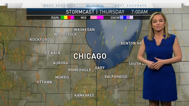 [CHI] Chicago Weather: Strong Storms Possible
