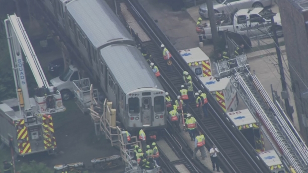 [CHI] WATCH: Passengers Rescued from Green Line Train After Derailment