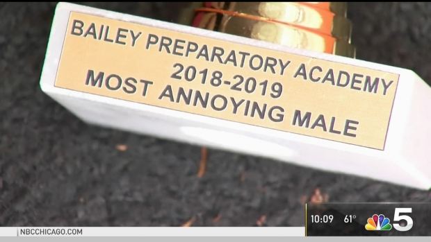 [CHI] Teachers Disciplined After Giving Student 'Annoying' Award