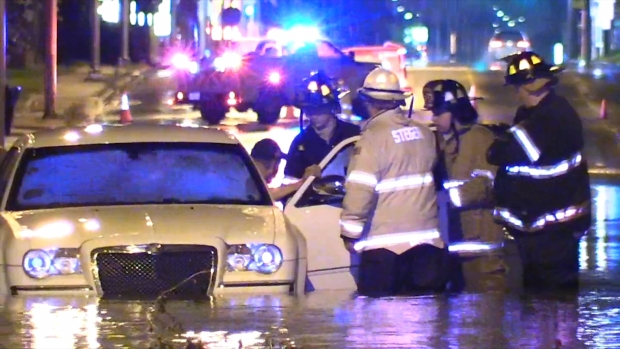 [CHI] See Flooding, Rescue in Northwest Indiana