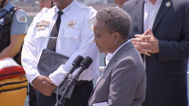 [CHI] Lightfoot Responds After Security Member Charged With Domestic Battery