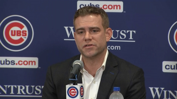 [CHI] Theo Epstein Says David Ross is a Candidate for Managerial Job