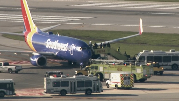 [CHI] Video Shows Emergency Response to Plane at Midway Airport