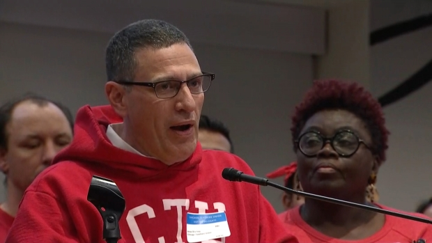 CTU President Jesse Sharkey Speaks After No Contract Deal Reached