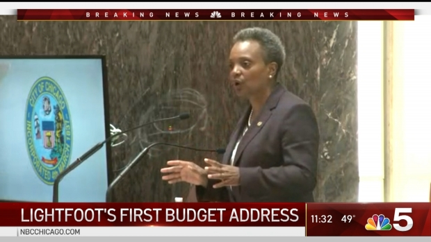 [CHI] Lightfoot Delivers First Budget Address