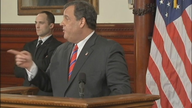[NY] Christie Says Motive for GWB Traffic Jams May Never Be Known