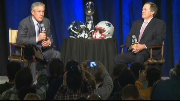 [NATL] WATCH: Seahawks Coach Pete Carroll on What Richard Sherman Should Name His Baby