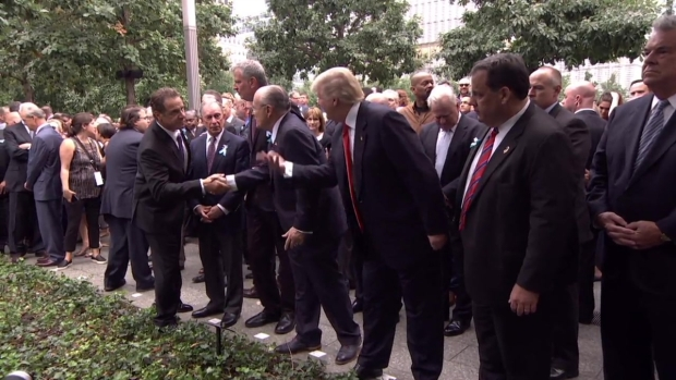 [NATL-NY] Politicians Pay Their Respects During 9/11 Anniversary Service