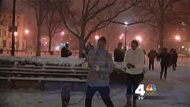 [DC] Dupont Circle Snowball Fight Draws Hundreds