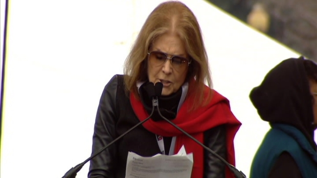 [NATL] Gloria Steinem at DC Women's March: 'Do Not Try to Divide Us'