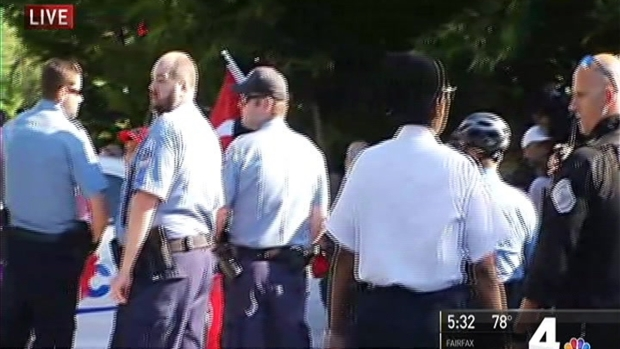 Turkish president's security clashes with DC protesters