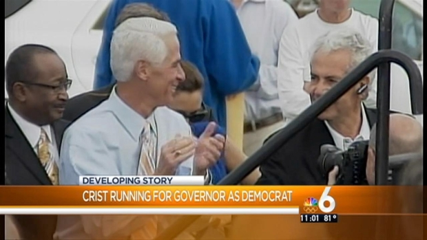 [MI] Charlie Crist Kicks Off Run for Florida Governor as a Democrat