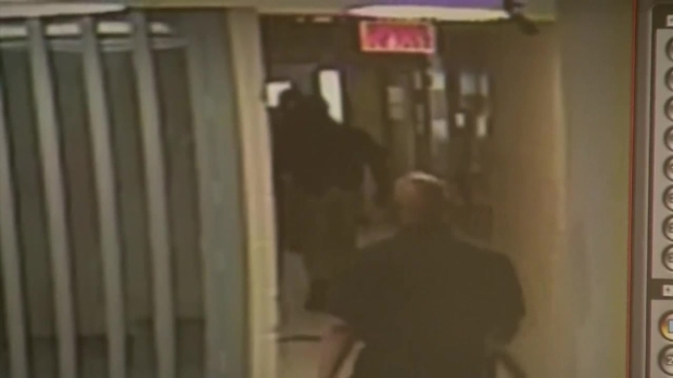 Raw Video: Waller Co. Jail Surveillance Video