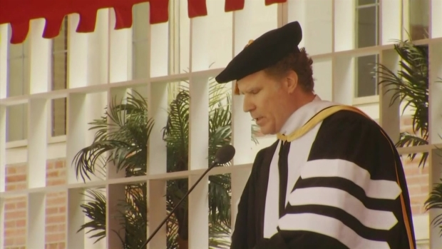 Will Ferrell Delivers Hilarious Graduation Speech at USC