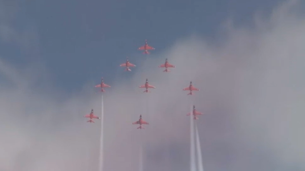 Royal Air Force Red Arrows to Show Out at Chicago Air & Water Show