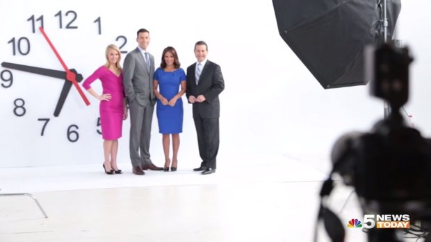 [CHI] Behind the Scenes of the NBC 5 NEWS TODAY Promo