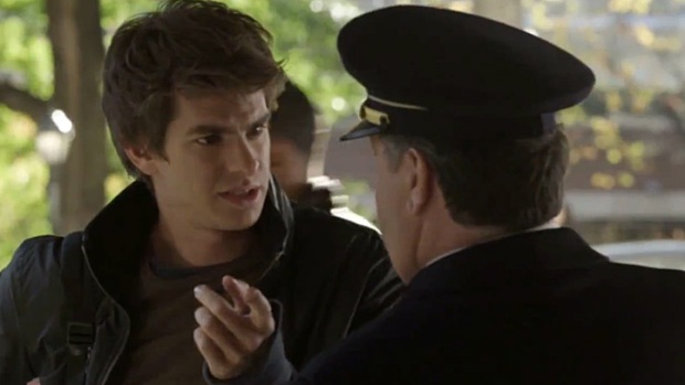 """Amazing Spider-Man"" Clip Features Peter Parker vs. The Doorman"
