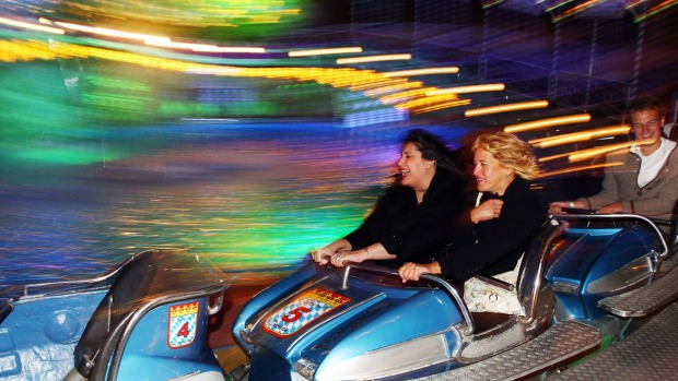 Iconic Theme Park Rides From Around U.S.