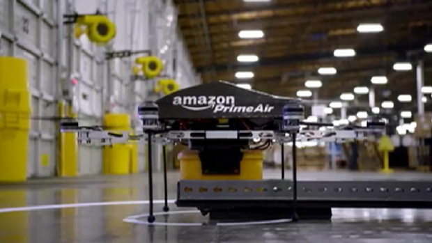 [CHI] Amazon Testing Delivery Drones