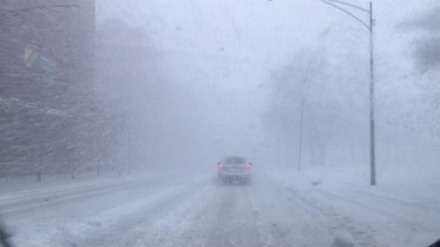 Video Shows Travel Conditions for Chicago Commuters Tuesday