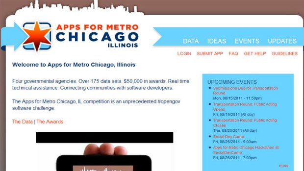 Want to Improve Chicago? Build an App.
