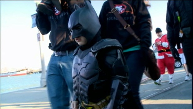 Batkid Returns to San Francisco