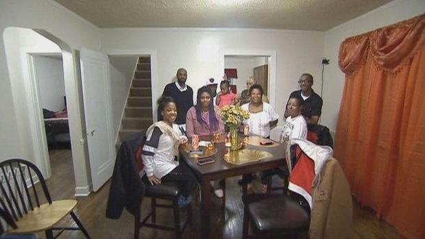 JRW Player, His Family Thankful for Gift of New Home