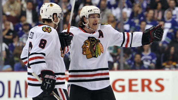 Blackhawks Shut Out Canucks 5-0
