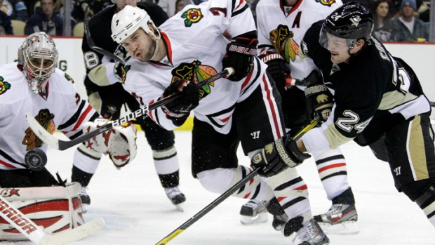 Blackhawks Fall to Penguins