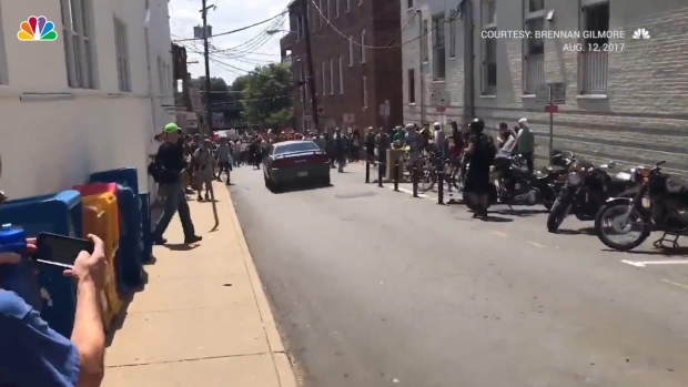 [NATL] Vehicle Drives Into Counter-Protesters in Charlottesville, Virginia