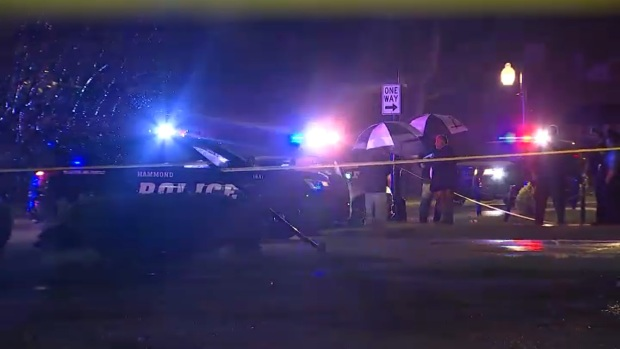 [CHI] 4 Injured in Shooting, Crash Incident Involving Hammond Police on Chicago's South Side