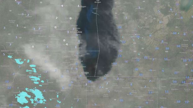 Timeline: Potential Snowstorm, Frigid Arctic Air Head Toward Chicago Area