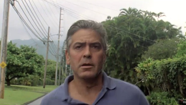 "First Clip From Clooney's ""The Descendants"" Sneaks Online"
