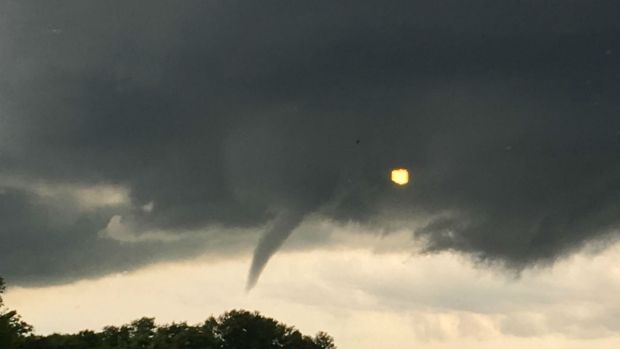 Snapshots of Severe Stormy Weather in the Chicago Area