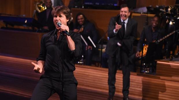 [NATL] Tom Cruise Has Epic Lip Sync Battle With Jimmy Fallon
