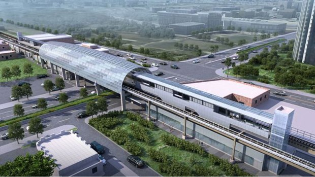 New Green Line Station Merges Style, Function