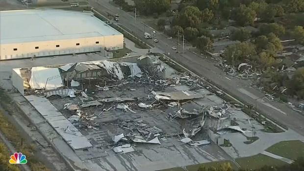 Tornado Touches Down in Dallas