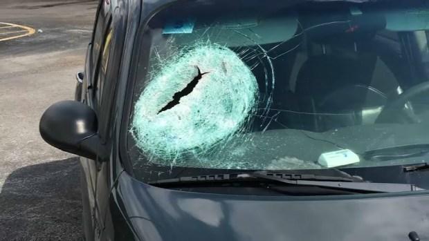 Loose Highway Markers Lead to Flying Debris