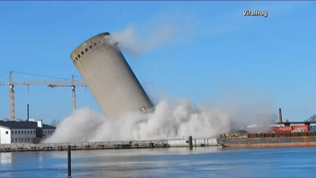 [NATL] Silo Implosion in Denmark Goes Wrong