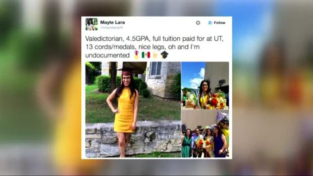 Former Valedictorian Fears Deportation