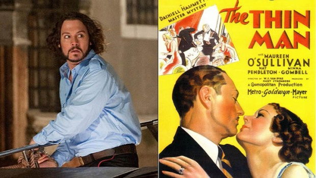 "Johnny Depp's ""Thin Man"" Gets Its 3rd Writer"