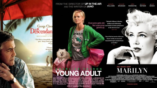 "Now on Home Video: ""The Descendants,"" ""Young Adult,"" ""My Week With Marilyn"" & More"