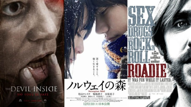 "This Week's New Movies: ""The Devil Inside,"" ""Norwegian Wood"" & ""Roadie"""