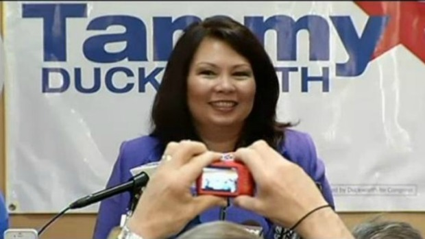 Duckworth Sets Fundraising Record