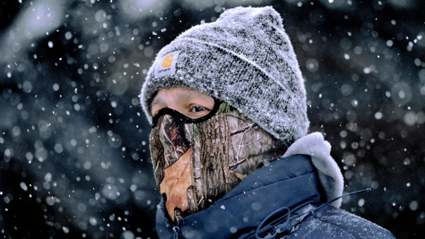 [AP] Deep Freeze Grips Much of US