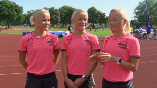 [NATL] Identical Triplets From Estonia to Compete at Rio Olympics