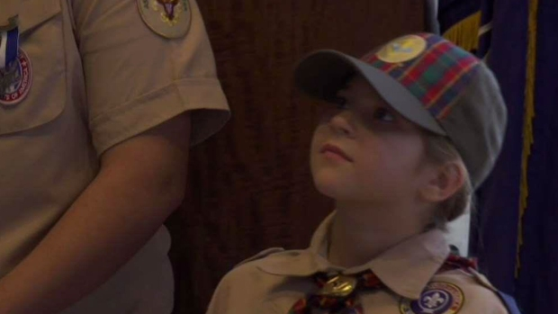 [NATL-NY] 4th Grader Becomes NYC's First Female Boy Scout