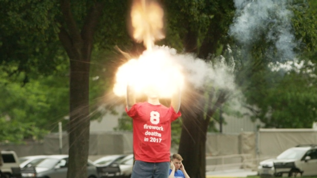 [NATL] Officials Show the Dangers of Fireworks