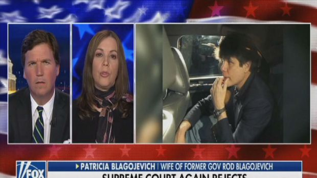 [CHI] Patti Blagojevich Makes Play For Trump Pardon on FOX's Tucker Carlson